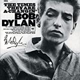 Bob Dylan Signed Autographed Times They Are Changin Record Album Cover LP Autographed Signed Facsimile