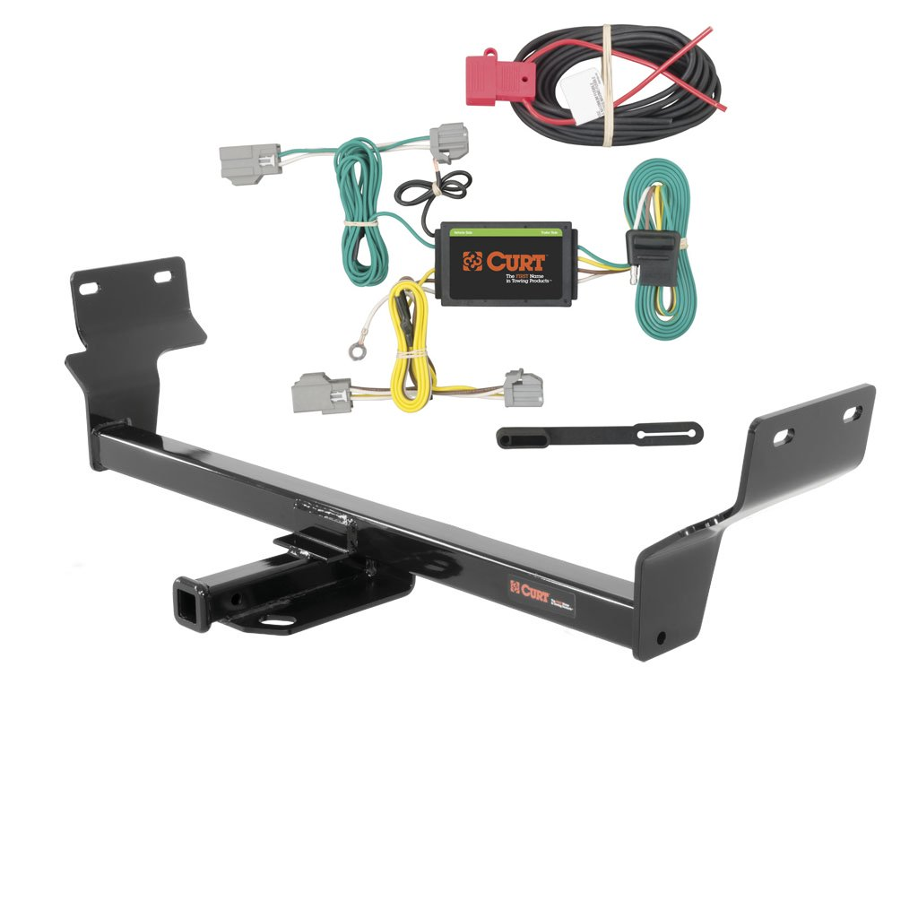 Amazon.com: CURT Class 1 Trailer Hitch Bundle with Wiring for 2015-2016 Chrysler  200 - 11403 & 56242: Automotive