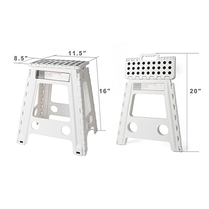 Elegant Heavy Duty Folding Step Stool