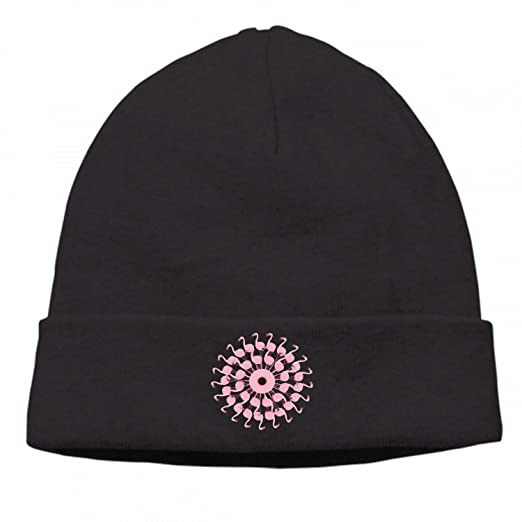 2b8e2487f Unisex Winter Knitted Beanie Hats A Circle of Flamingos Daily Knit ...