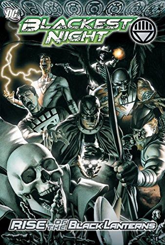 Lantern English Black - Blackest Night Rise Of The Black Lanterns TP