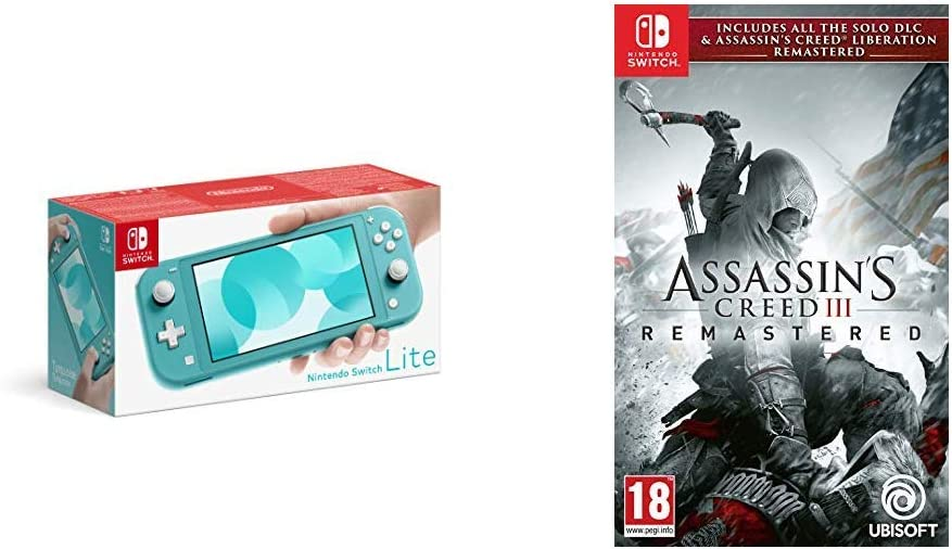 Nintendo Switch Lite Turquoise Assassin S Creed Iii Remastered