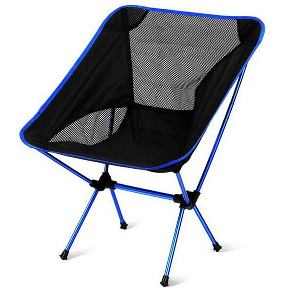 Folding Camping Chair egymcom Ultralight Steel Portable Flodable Backpacking Chair with Carrying Bag for Outdoor Camping/Fishing /Picnic/ BBQ [並行輸入品] B077QLBD33