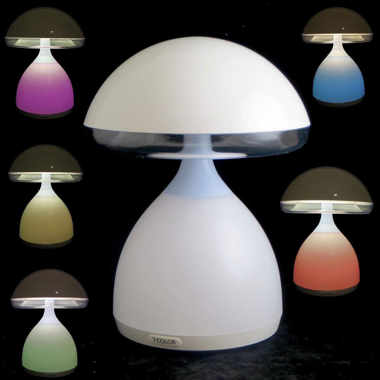 Beleuchtung Lumino Lampada Led Colori Cromoterapia Da Tavolo Comodino Multicolore Senza Fili Mobel Wohnen Blowmind Com Br