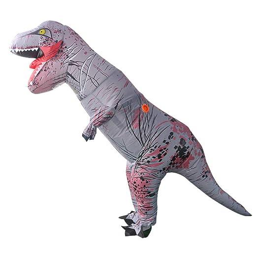 RNGNBKLS T-Rex Disfraz Inflable De Dinosaurio Adulto Explota ...