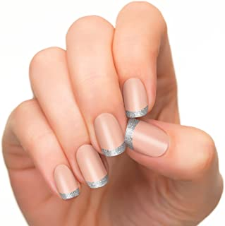 product image for Incoco Nail Polish Strips, French Manicure, Bling Bling Tips