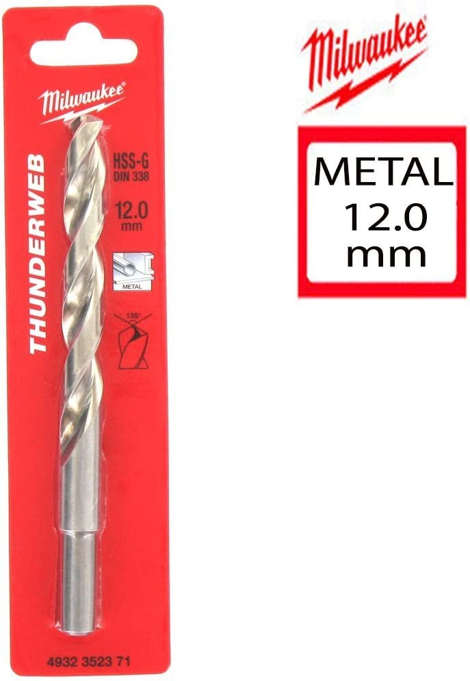 Milwaukee HSS-G 2.5mm THUNDERWEB Metal Drill Bit 4932352348