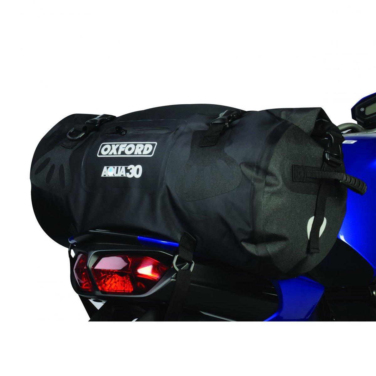 Oxford Motorcycle Aqua30 All Weather Waterproof Roll Top Bag Luggage OL910
