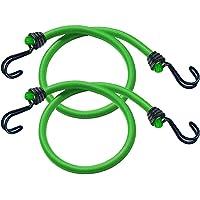 Master Lock Snelbinders met haken [Set van 2 snelbinders] [80 cm Snelbinder] [Dubbele omgekeerde haak] 3021EURDAT - voor…