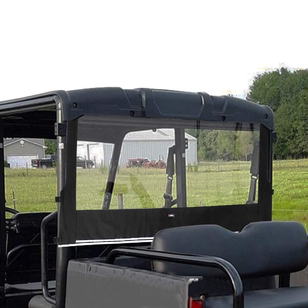 Ranger 500 700 Rear UTV Windshield for 2002-2007 Polaris Ranger 500 650 700 KEMIMOTO Ranger Rear Window