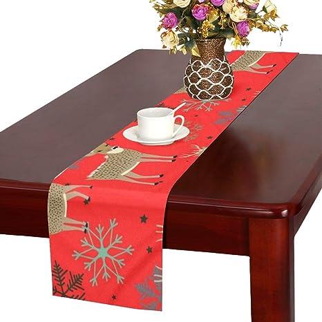 Holiday Decor Christmas Decor Retro Christmas Table Runner Chevron Table Runner Christmas Table Runner