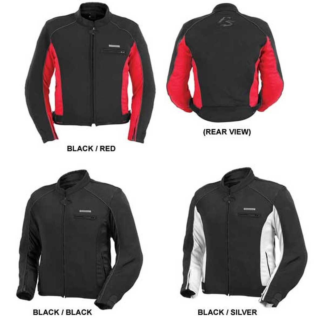 Fieldsheer Corsair 2.0 Mens Black Sport Textile Jacket - 2X-Large