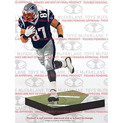 Image Unavailable. Image not available for. Color  McFarlane Toys NFL  Series 36 Rob Gronkowski New England Patriots ... de6e57f48