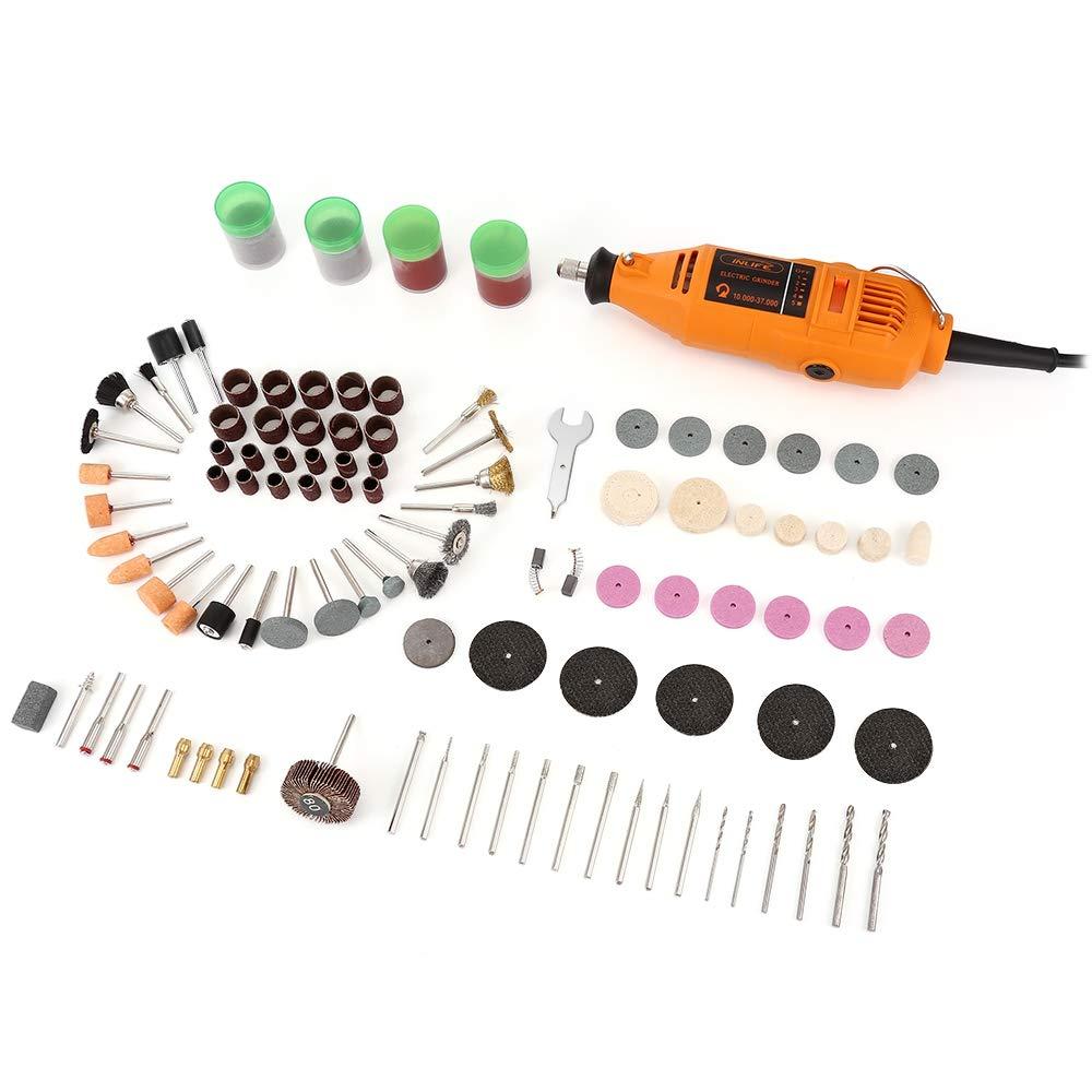 Handheld Rotary Tool Kit Electric Die Grinder Drill Adjustable Speed (Rotary Tool)