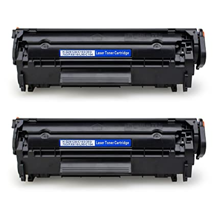Amazon Com Jarbo Compatible For Hp 12a Q2612a Toner Cartridges High