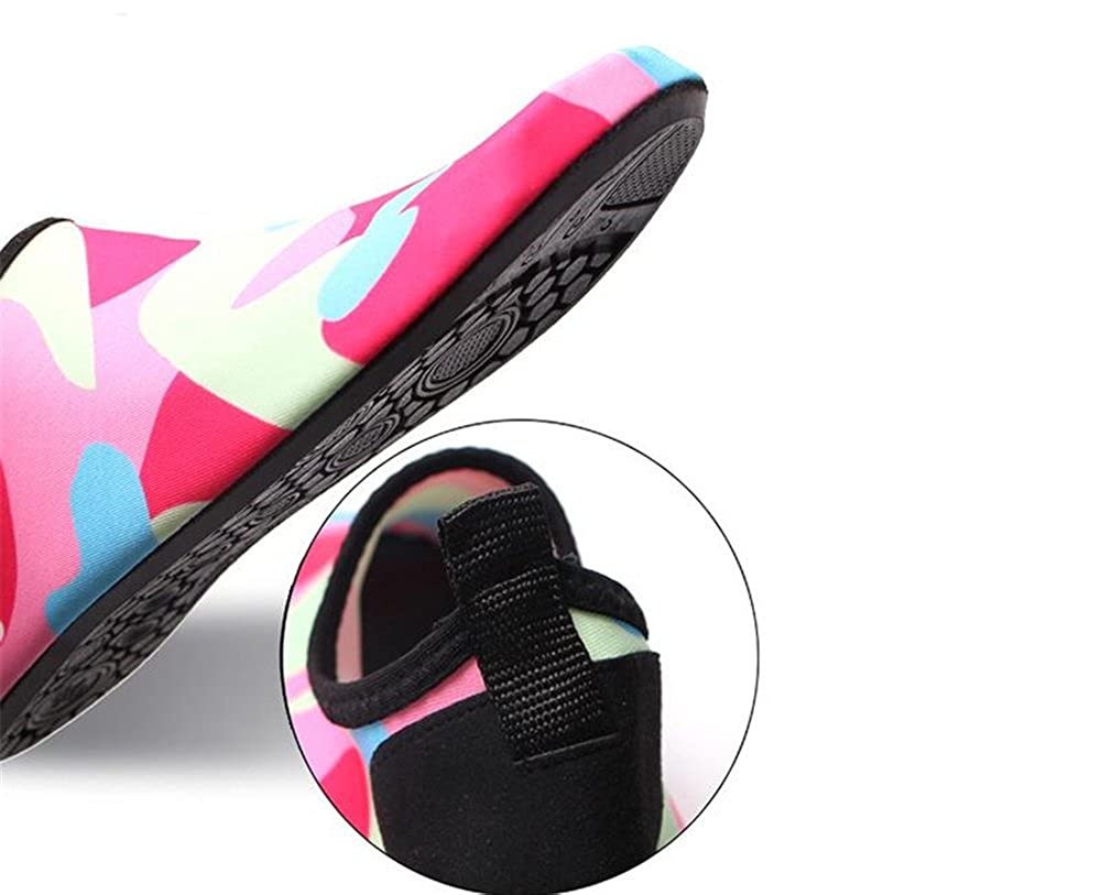 eleganceoo Boys Girls Water Shoes Mutifunctional Barefoot Quick Dry Aqua Shoes for Beach Pool Eercise