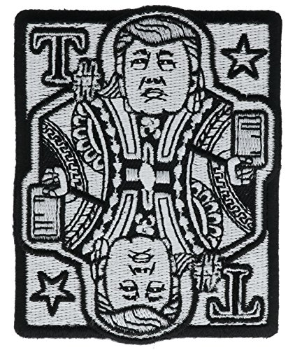 Trump Card Script Iron Or Sew On Patch IVAN6017