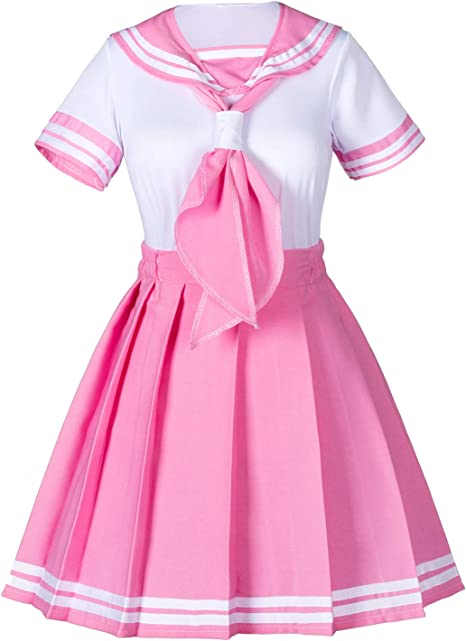 Details about  /Japanese Japan School Uniform Dress Sailor Cosplay Costume Anime Girl Styles New