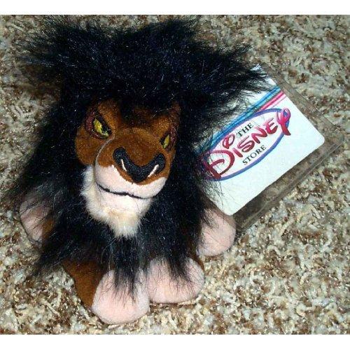 retired-disney-lion-king-villain-6-inch-plush-bean-bag-scar-doll-by-disney