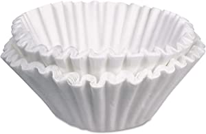 BUNN 10GAL23X9 Commercial Coffee Filters, 10 Gallon Urn Style, 250/Pack