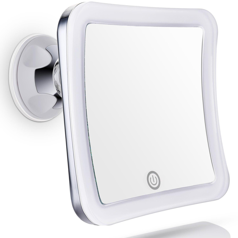 lighted magnifying makeup mirror 15x uk mugeek vidalondon. Black Bedroom Furniture Sets. Home Design Ideas