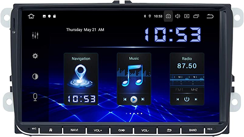 Dasaita Android 10 0 Headunit Carplay Für Vw Polo Golf Elektronik