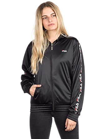 Fila Damen Jacke Strap Track Jacket: Amazon.de: Bekleidung