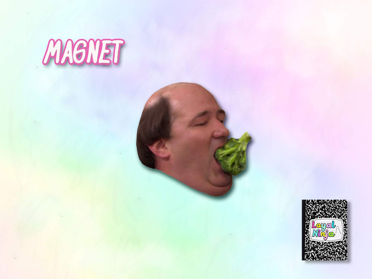 Kevin Malone Broccoli 2.5 x 2 The Office TV Show Magnet