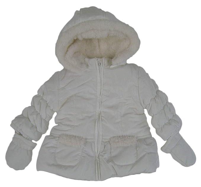 losan 828-2790Ad, Abrigo para Bebés, Blanco (Crudo 002) 68 (