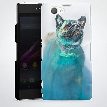 artboxone Teléfono Móvil Sony pequeño gigante azul – Animales ...