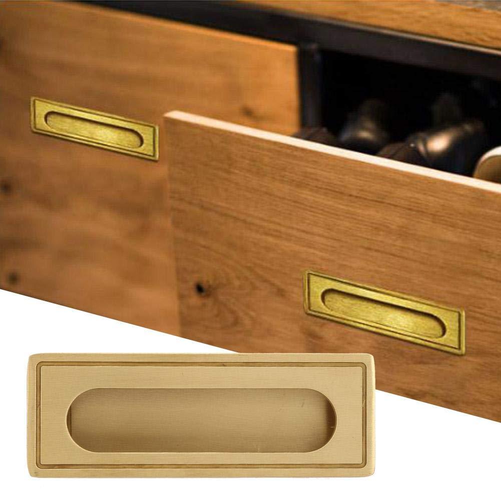 tirador empotrado de lat/ón para mueble Armario de cocina Armario Armario Armario Tirador de caj/ón Tirador para puerta corredera