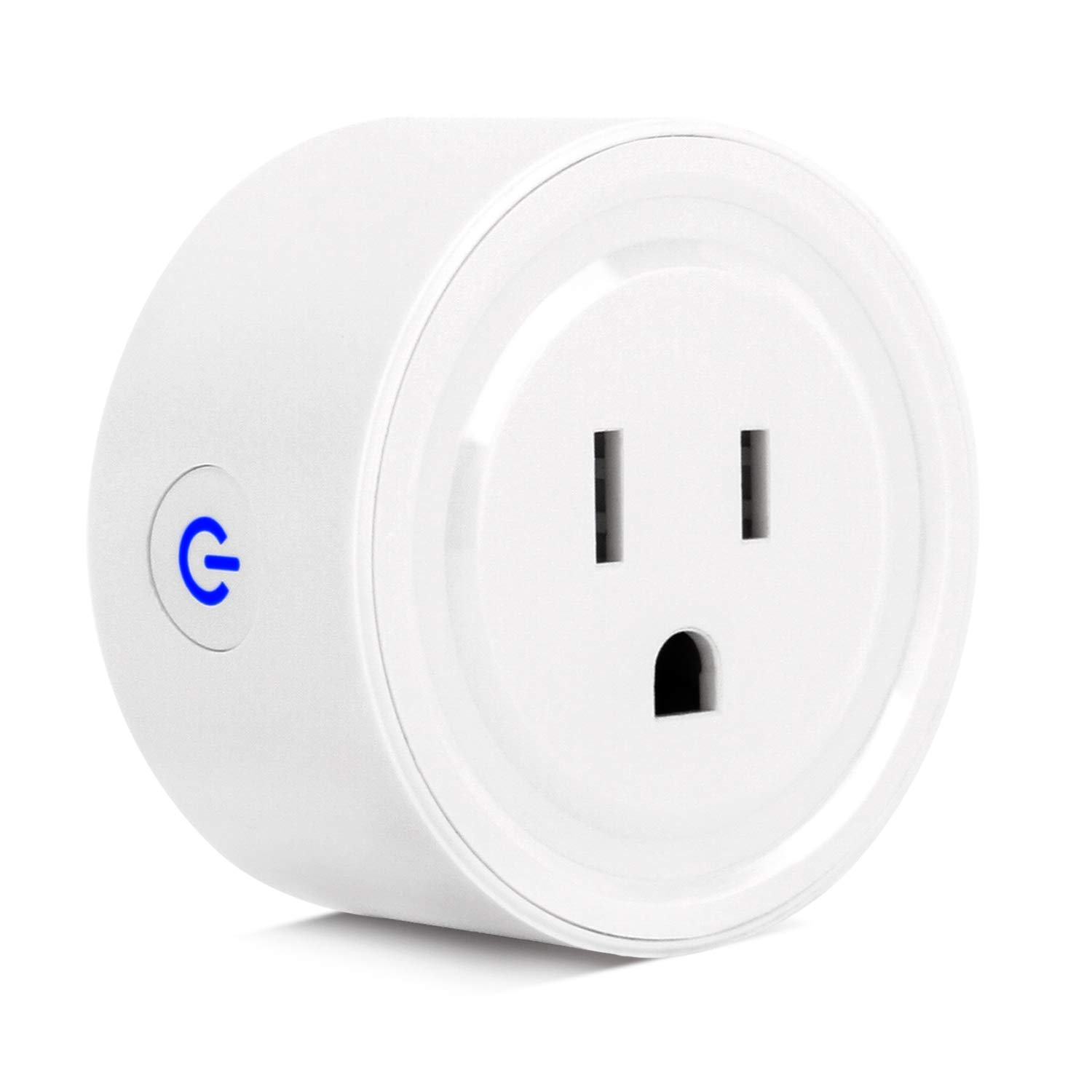 WIFI Smart Plug,ZTHY Wireless Timing Function MINI Socket Outlet Compatible with Amazon Alexa Echo, Google home and IFTTT for Voice Control, No Hub Required,Remote Control your Devices from Anywhere
