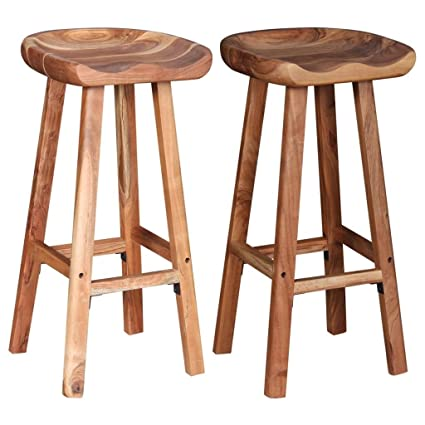 Incredible Festnight Wooden Bar Stools Chair For Kitchen Dining Stool Ncnpc Chair Design For Home Ncnpcorg