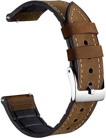 Amazon.com: Adebena - Correa de silicona suave para reloj ...