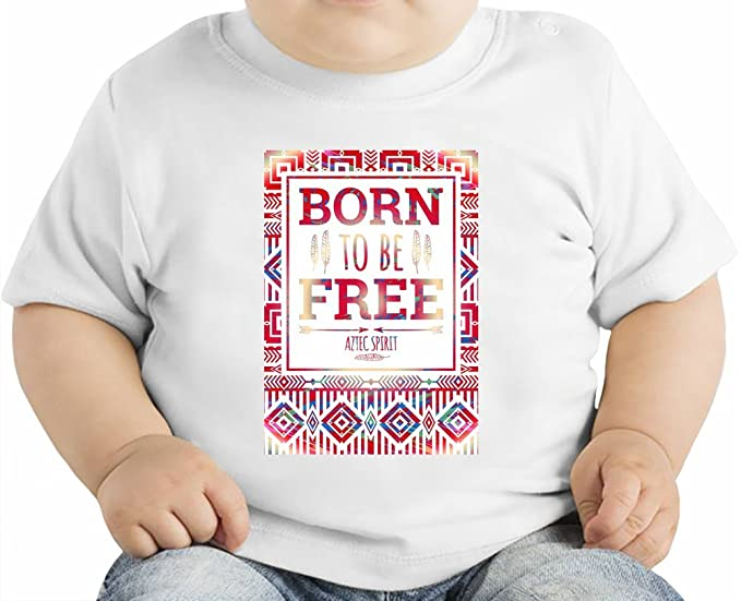 Born To Be Free Camiseta orgánica bebés 12 - 18 Months