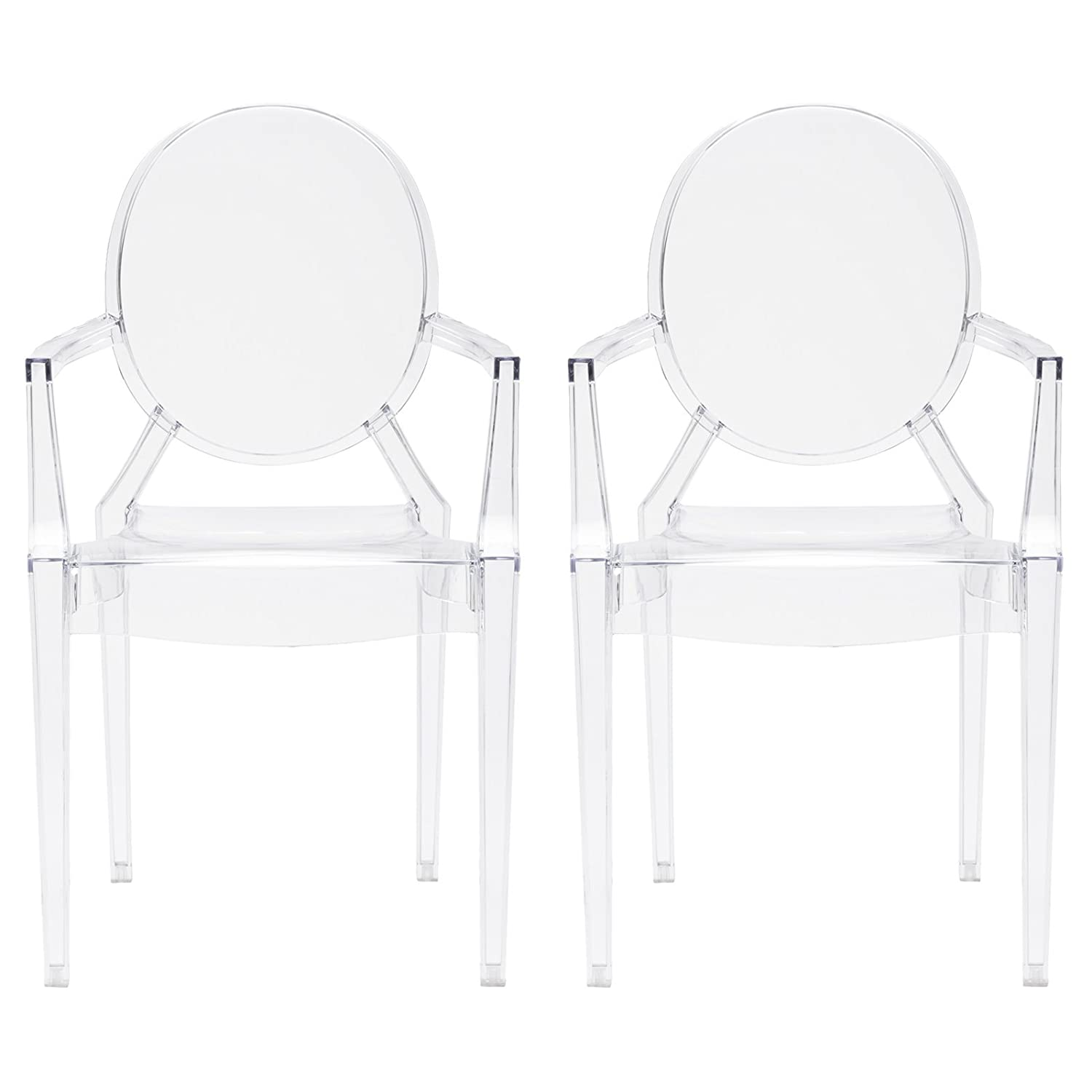 Louis Ghost Chairs. #louischair #modernfrench #ghostchair #louisghostchair 3modernclearchair #acrylicchair