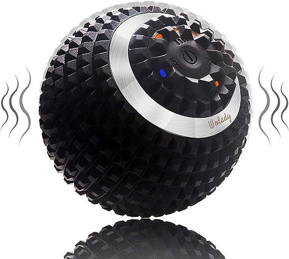 Dyyicun12 Balle de massage EVA avec double boule de yoga et de fitness
