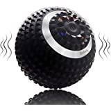 Vibrating Massage Ball Wolady 4-Speed High-Intensity Fitness Yoga Massage Roller, Relieving Muscle Tension Pain…