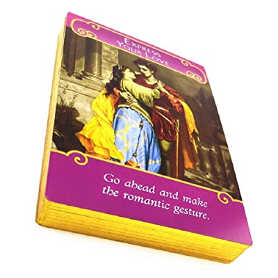 The Roman Angels Tarot Oracel Cards Deck 44 Romance Angel Oracle Cards by Doreen Virtue Rare Out of Print Knock Off Version No Longer in Production: Toys & Games