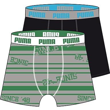 Puma - Ropa interior para hombre, tamaño S, 04_green / gris