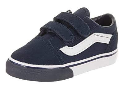 a66fcc6a5a34 Vans Toddlers Old Skool V (Mono Bumper) Skate Shoe  Amazon.co.uk ...