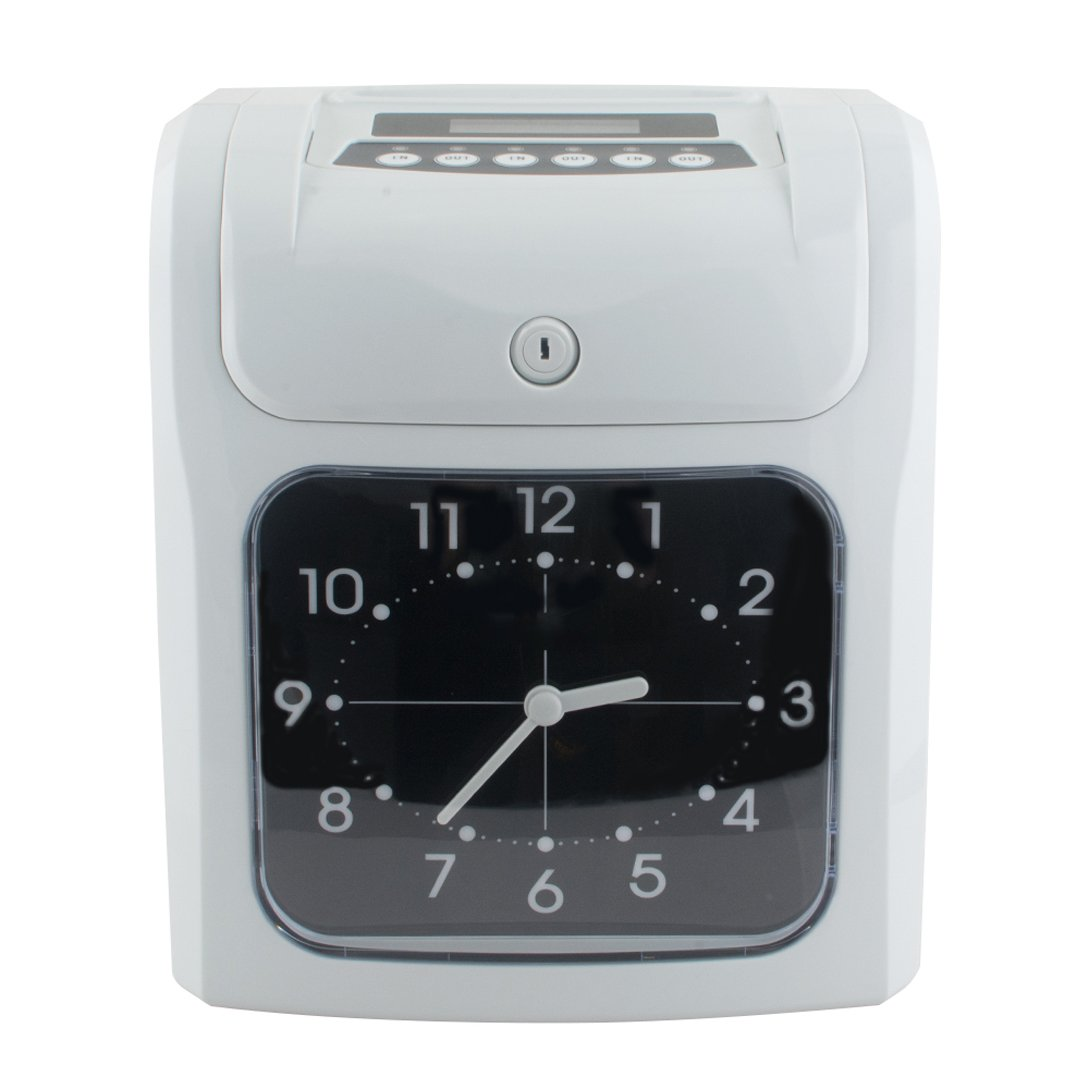Vinmax Electronic Time Clocks for Small Business Time Clock System w/Card Monthly/Weekly/Bi-weekly