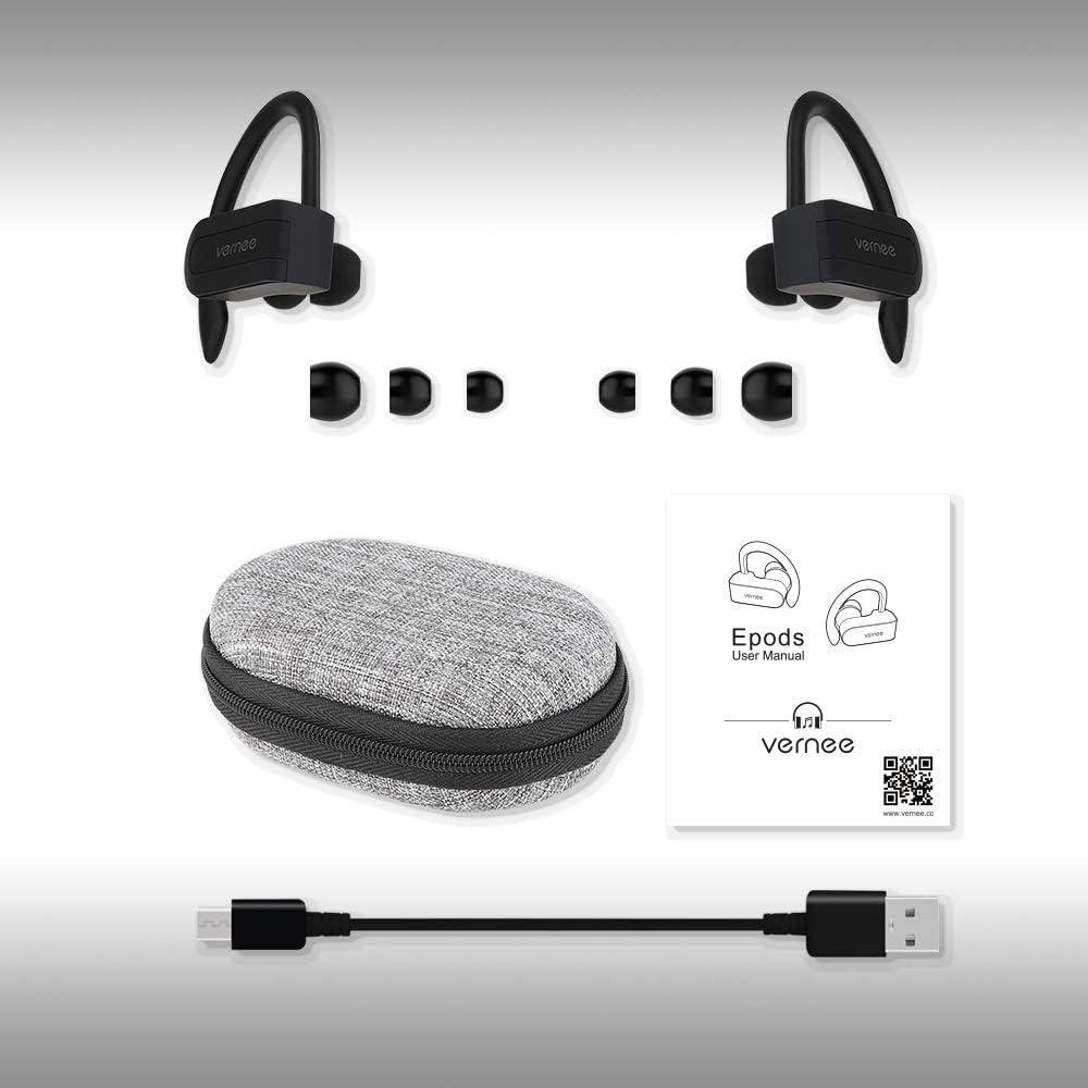 Vernee Bluetooth Kopfhrer in Ear Sport Kabellos Ohrhrer IPX5 ...