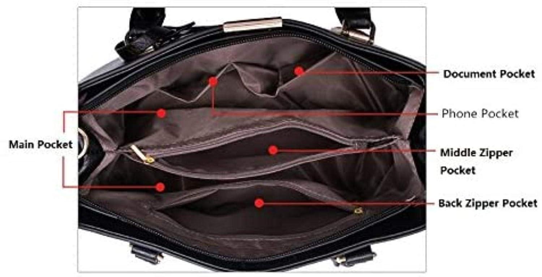 Regnkvinnor kvalitetshandväskor PU-läder topphandtag axelväska tygväska axelväskor messengerväska för kvinnor läder damer axelväska, vinröd Djupblå