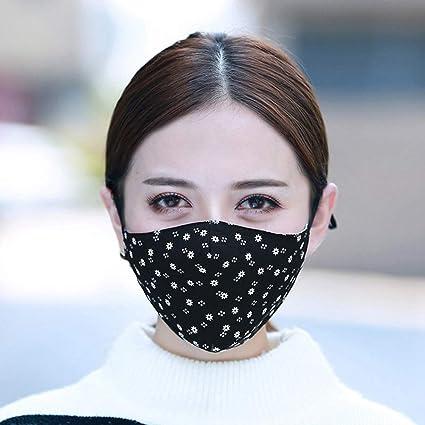 masque anti bacterien noir