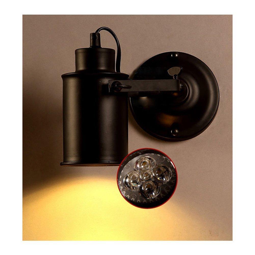 Black Industrial Vintage Spotlight Wall Light Sconce LED Aisle Lights Loft Style eBay
