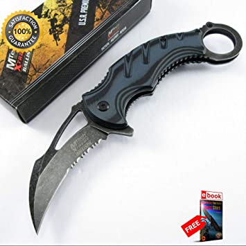 Amazon.com: Moon Knives - Cuchillo de boxeo afilado con ...