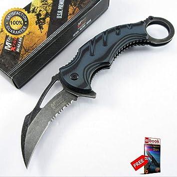 Amazon.com: Moon Knives - Cuchillo de boxeo afilado con ...