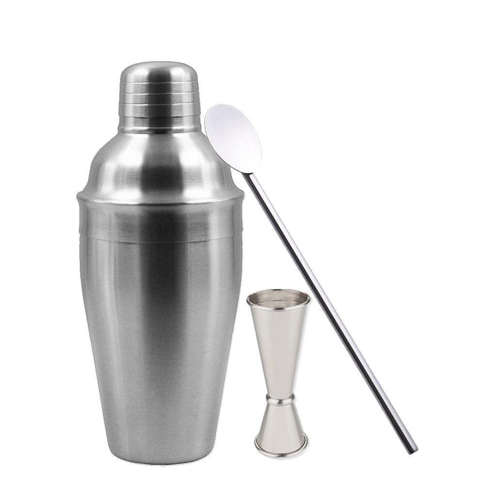 ... coctelería - Kit de herramientas para barra de herramientas - Accesorios para beber con doble jigger, cuchara para mezclar y perfecto para un carrito de ...
