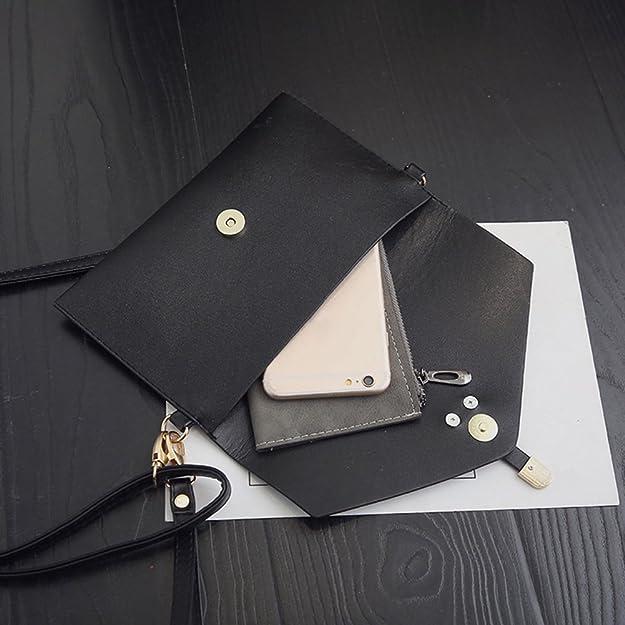 429752846899 Amazon.com: AFfeco 3pcs Women PU Leather Backpack School Bag ...